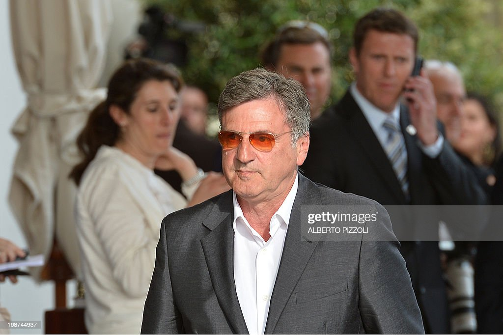 French actor and member of the Feature Film Jury, Daniel Auteuil arrives on May 14, 2013 at the Martinez Hotel in Cannes to attend a photocall of the Jury on the eve of the 66th edition of the Cannes Film Festival. Cannes, one of the world's top film festivals, opens on May 15 and will climax on May 26 with awards selected by a jury headed this year by Hollywood legend Steven Spielberg.