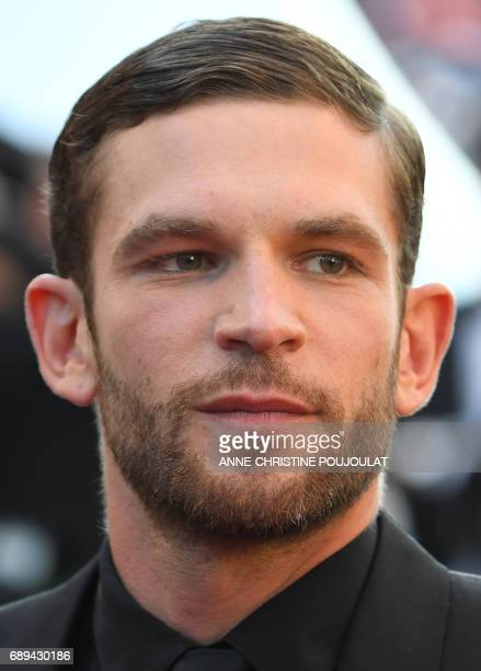 French actor Arnaud Valois arrives on May 28 2017 for the closing ceremony of the 70th edition of the Cannes Film Festival in Cannes southern France...