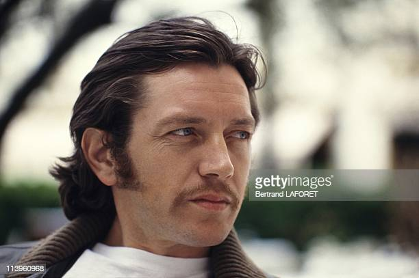 French Actor Bernard Giraudeau In Cannes France On May 10 1983French Actor Bernard Giraudeau in Cannes May 10 1983