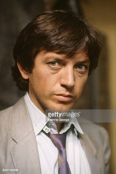 French actor Bernard Giraudeau on the set of Le Grand Pardon written and directed by Alexandre Arcady