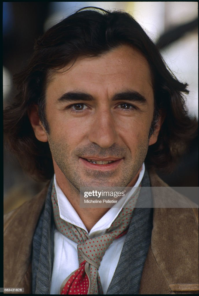 French actor Christophe Malavoy who interprets the landowner Rodolphe Boulanger