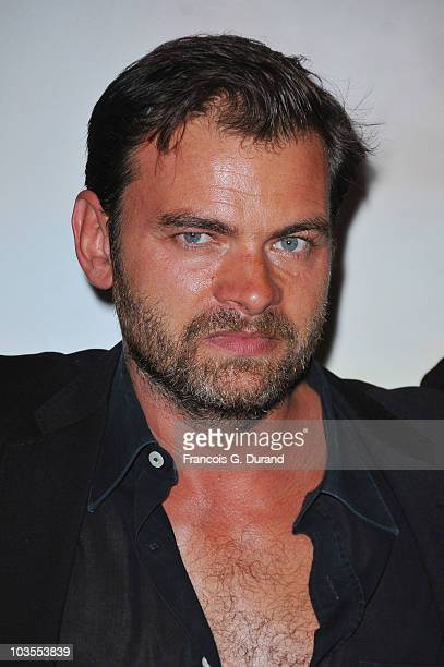 French actor Clovis Cornillac attends the premiere for '600 kg d'Or Pur' at Cinema Gaumont Opera on August 23 2010 in Paris France