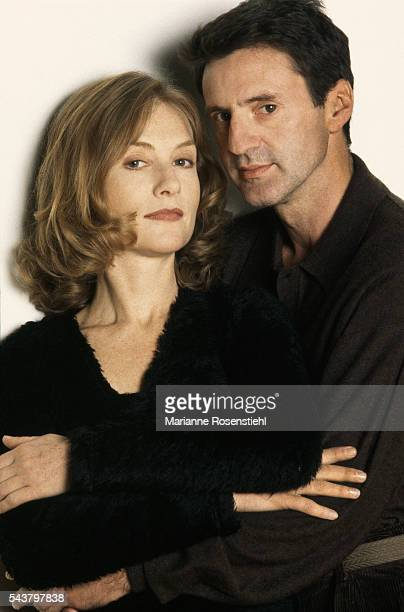 French actor Daniel Auteuil and French actress Isabelle Huppert
