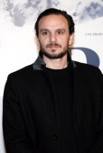 French actor Dimitri Storoge poses before the presentation of the movie 'Belle and Sébastien' of French film director Nicolas Vanier on November 17...
