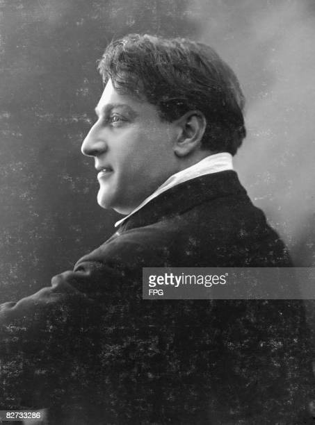 French actor director and script writer Sacha Guitry circa 1915