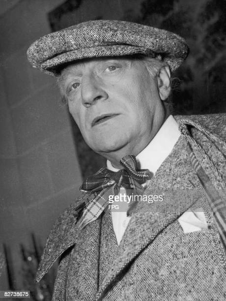 French actor director and writer Sacha Guitry 1949