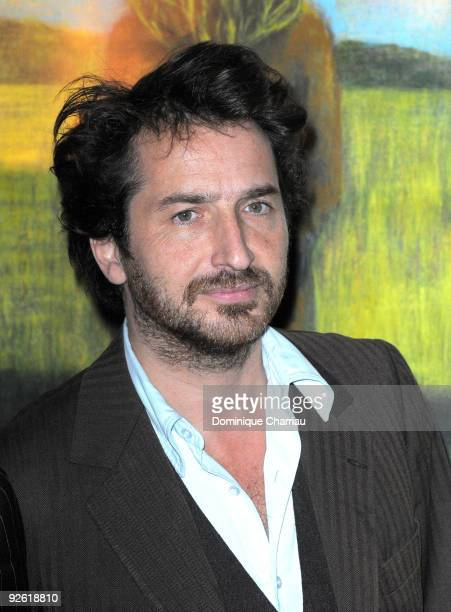 French Actor Edouard Baer attends 'Les Herbes Folles' Paris Premiere at Cinematheque Francaise on November 2 2009 in Paris France