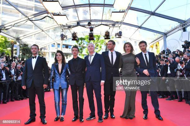 French actor Felix Maritaud French actress Aloise Sauvage Argentinian actor Nahuel Perez Biscayart French director Robin Campillo French actor Arnaud...
