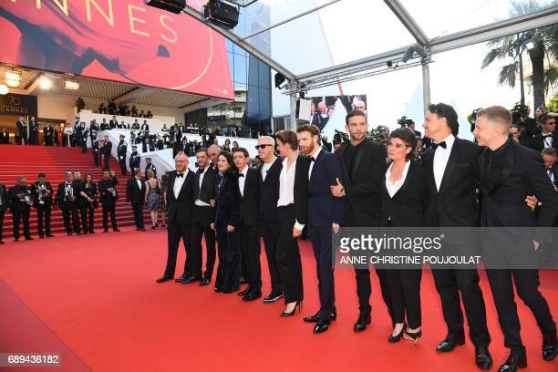 French actor Felix Maritaud French actress Aloise Sauvage Argentinian actor Nahuel Perez Biscayart French director Robin Campillo French actress...