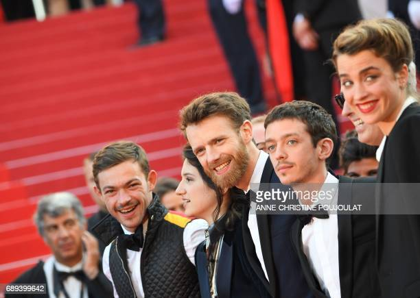 French actor Felix Maritaud French actress Aloise Sauvage French actor Antoine Reinartz Argentinian actor Nahuel Perez Biscayart and French actress...