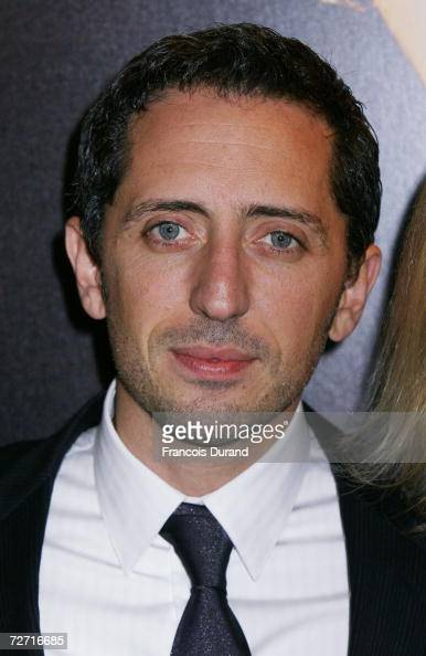 French actor Gad Elmaleh attends the premiere of ' Hors De Prix ' at the UGC Normandie on December 4 2006 in Paris France
