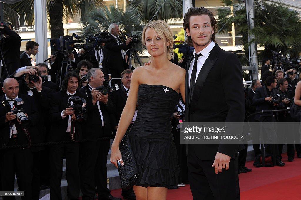 French actor Gaspard Ulliel and girlfriend Jordane Crantelle arrive ...