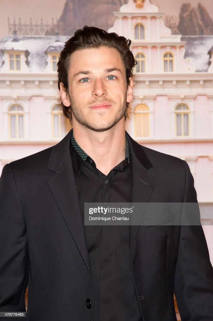 French Actor Gaspard Ulliel attends the 'The Grand Budapest Hotel' Paris Premiere at Cinema Gaumont Opera on February 20, 2014 in Paris, France.