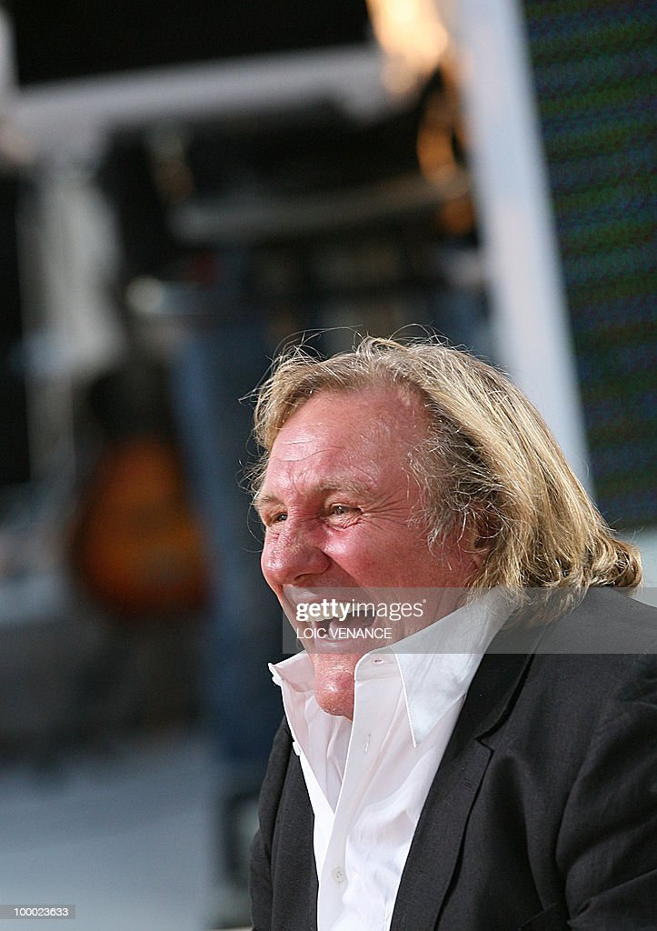 French actor Gerard Depardieu attends th