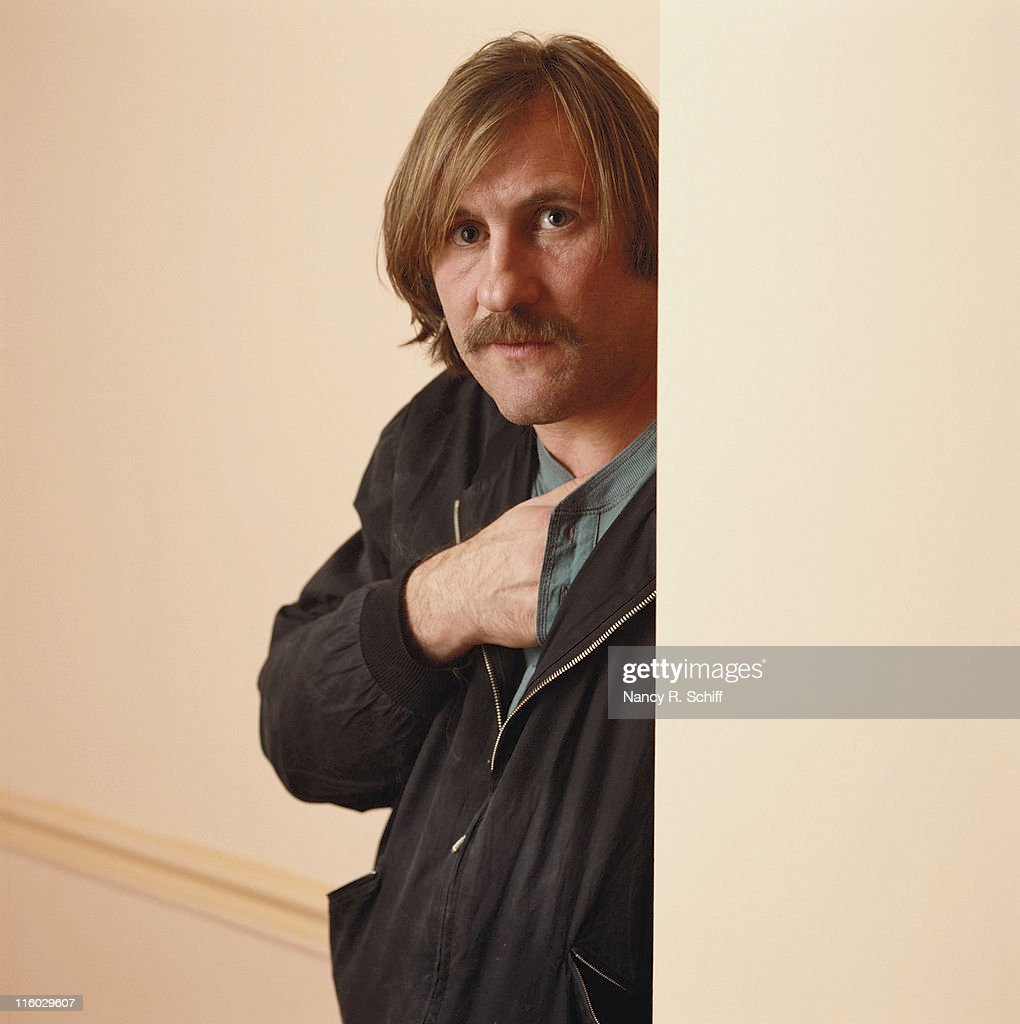 French actor Gerard Depardieu, circa 1990.