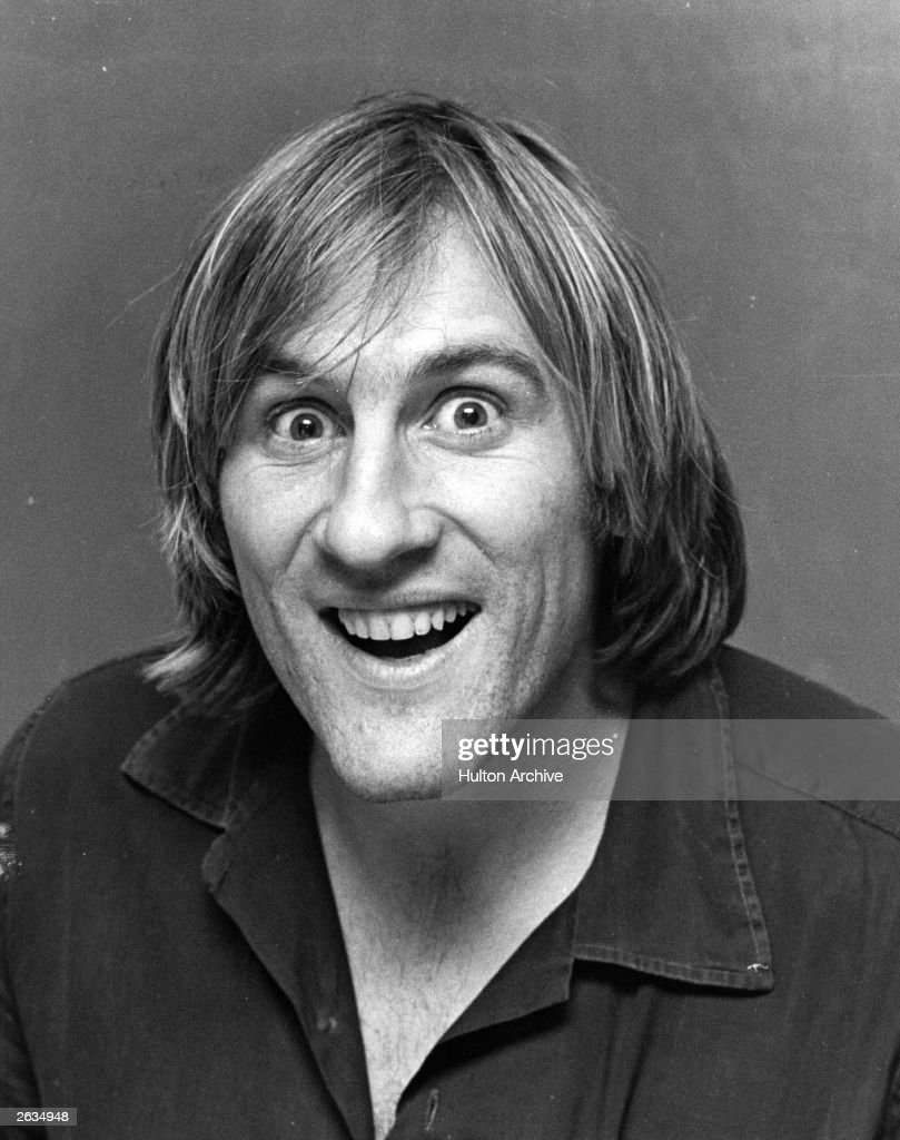 French actor Gerard Depardieu.
