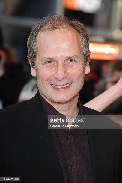 French actor Hippolyte Girardot attends the 'Schlafkrankheit' Premiere during day three of the 61st Berlin International Film Festival at Berlinale...