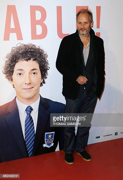 French actor Hyppolite Girardot arrives to attend the premiere of 'Les garçons et Guillaume à table' in Paris on November 18 2013 AFP PHOTO / THOMAS...