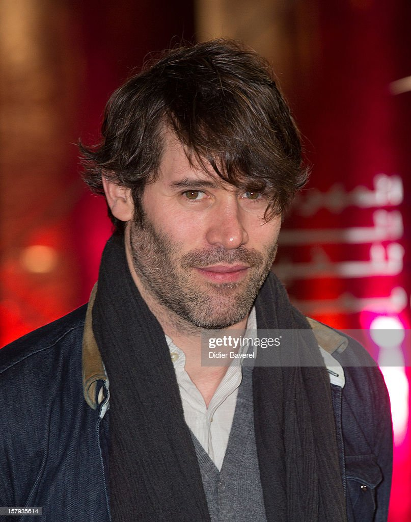 French actor Jalil Lesper attends the 12th International Marrakech Film Festival on December 7, 2012 in Marrakech, Morocco.