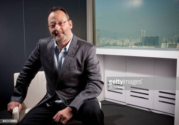 French actor Jean Reno poses for a photograph in Hong Kong China on Thursday Dec 10 2009 Reno has been in such films as La Femme Nikita Mission...
