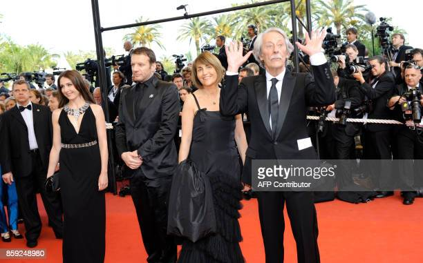 French actor Jean Rochefort and French Culture Minister Christine Albanel French actor Samuel Le Bihan and French actress Elsa Zylberstein arrive for...