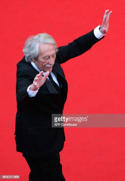 French actor Jean Rochefort arrives for the opening ceremony and the screening of 3D animated movie 'Up' during the 62nd Cannes Film Festival on May...