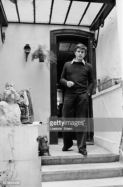 French Actor JeanClaude Bouillon at Home