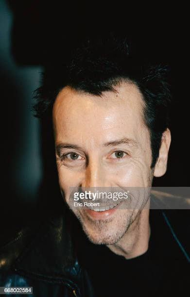 French actor JeanHugues Anglade smiles during the JC Decaux Cinema Poster Grand Prix