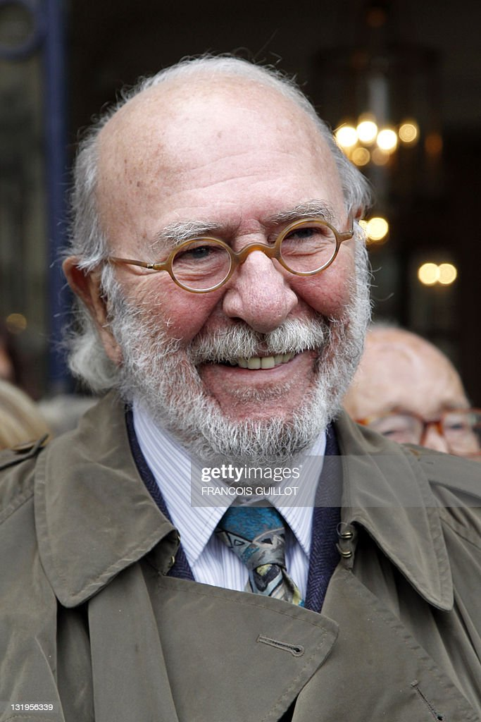 French actor Jean-Pierre Marielle is seen a he attends a ceremony to unveil a plaque to mark the building where French entertainer Henri Salvador had lived for 46 years, 6 place Vendome in Paris, on November 9, 2011.