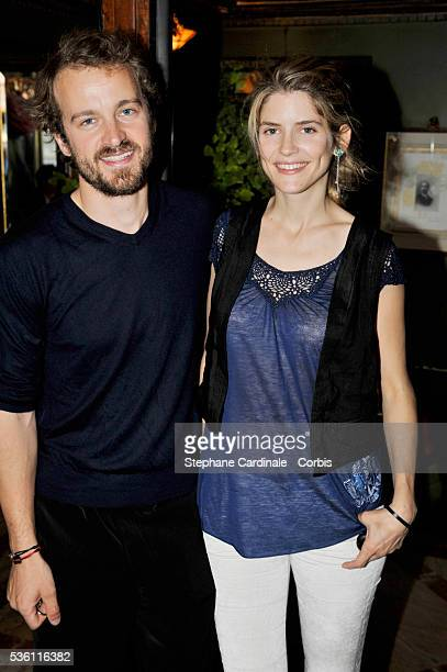 French actor Jocelyn Quivrin and french actress Alice Taglioni