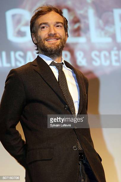 French actor Jonathan Lambert attends the 23rd Gerardmer Fantastic Film Festival opening ceremony on January 27 2016 in Gerardmer France