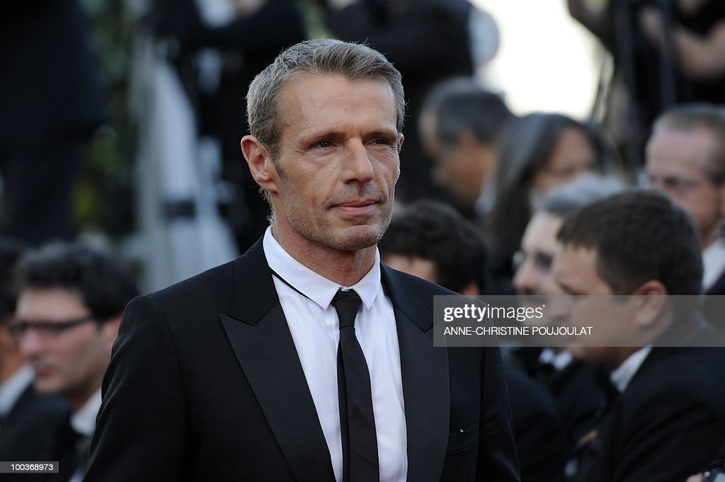 French actor Lambert Wilson arrives for