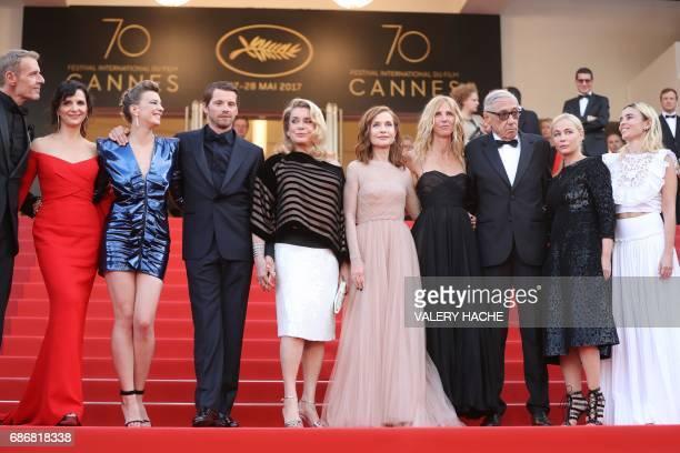 French actor Lambert Wilson French actress Juliette Binoche French actress Celine Sallette French actor Pierre Deladonchamps French actress and...