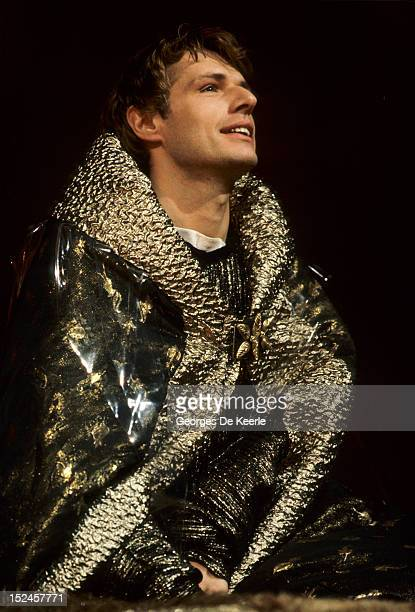 French actor Lambert Wilson in Simon Callow's production of 'The Infernal Machine' by Jean Cocteau at the Lyric Theatre Hammersmith London on...
