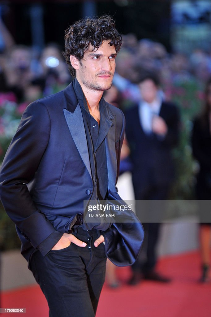 French actor Louis Garrel arrives for the screening of 'La Jalousie' presented in competition at the 70th Venice Film Festival on September 5, 2013 at Venice Lido.