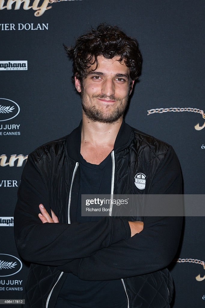 French actor <a gi-track='captionPersonalityLinkClicked' href=/galleries/search?phrase=Louis+Garrel&family=editorial&specificpeople=868484 ng-click='$event.stopPropagation()'>Louis Garrel</a> attends the 'Mommy' Paris premiere at MK2 Bibliotheque on September 30, 2014 in Paris, France.