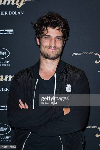 French actor Louis Garrel attends the 'Mommy' Paris premiere at MK2 Bibliotheque on September 30 2014 in Paris France