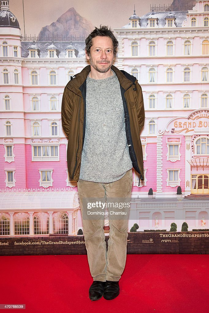 French actor <a gi-track='captionPersonalityLinkClicked' href=/galleries/search?phrase=Mathieu+Amalric&family=editorial&specificpeople=612979 ng-click='$event.stopPropagation()'>Mathieu Amalric</a> attends the 'The Grand Budapest Hotel' Paris Premiere at Cinema Gaumont Opera on February 20, 2014 in Paris, France.