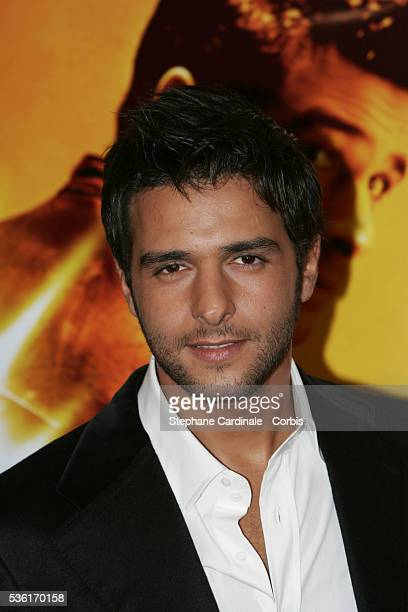 French actor Maxim Nucci arrives at the premiere of the movie 'Alive' directed by Frédéric Berthe