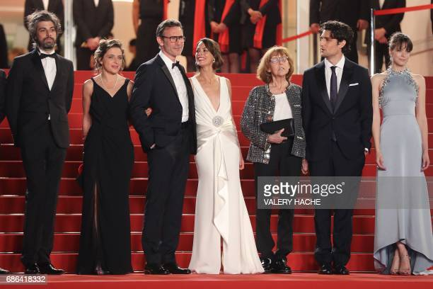 French actor Misha Lescot French producer Florence Gastaud French director Michel Hazanavicius FrenchArgentinian actress Berenice Bejo French...