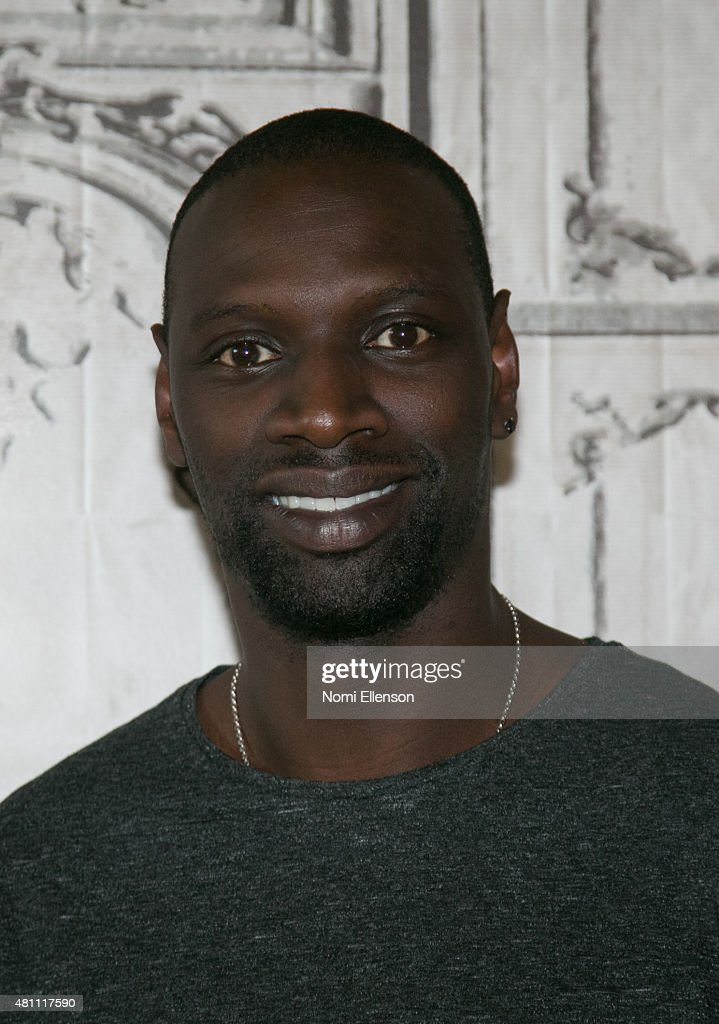 French actor Omar Sy talks about his film 'Samba' at AOL BUILD Speake...