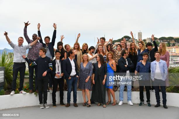 French actor Oscar Copp French actor Christopher Bayemi French actor Gregoire Isvarine French actress Alba Gaia Bellugi French actress Laurette...