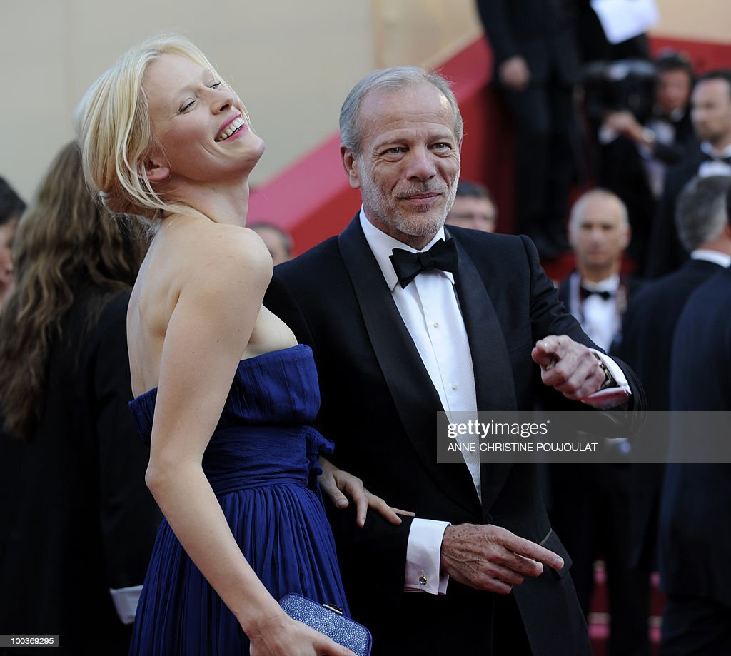 French actor Pascal Greggory arrives for the screening of 'Des Hommes et des Dieux' (Of God and Men) presented in competition at the 63rd Cannes Film Festival on May 18, 2010 in Cannes.