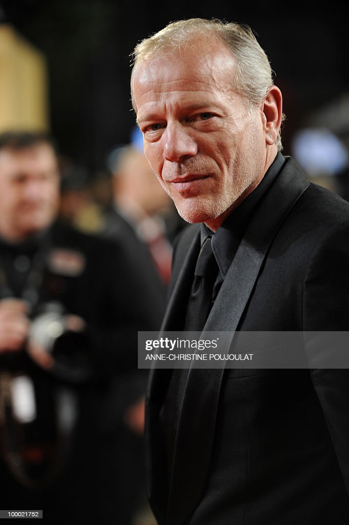 French actor Pascal Greggory arrives for the screening of 'Rebecca H. (Return to the Dogs)' presented in the Un Certain Regard selection at the 63rd Cannes Film Festival on May 20, 2010 in Cannes.