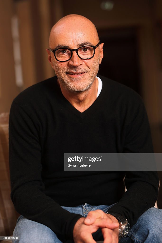 French actor Patrick Bosso poses during photo session before press conference for 'Marseille' film premiere in Lille on February 10, 2016 in Lomme, France.