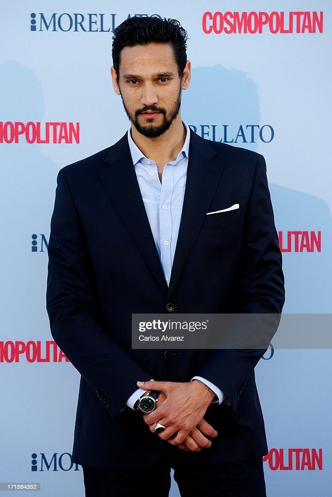 French actor Stany Coppet attends the 'Cosmopolitan Fragance Awards' 2013 at the Circulo de Bellas Artes on June 26, 2013 in Madrid, Spain.