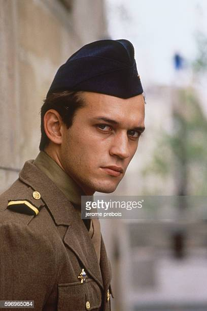 French actor Vincent Perez in the film 'La Neige et le Feu' directed by Claude Pinoteau