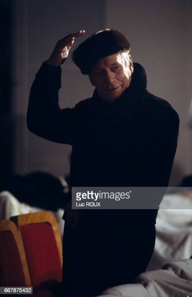 French actor Yves Montand in the film Trois Places pour le 26 written and directed by Jacques Demy