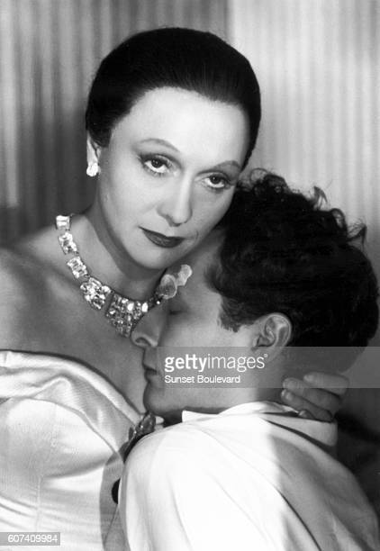 French actors Arletty and JeanLouis Barrault on the set of Les Enfants du Paradis written by Jacques Prévert and directed by Marcel Carné