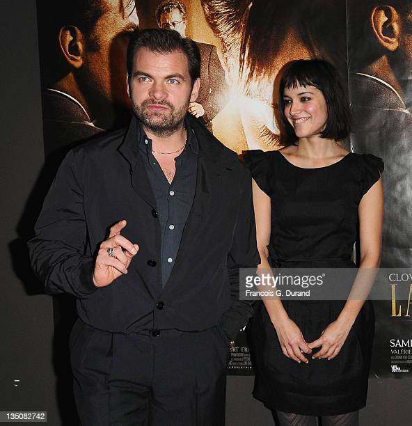 French actors Clovis Cornillac and Vimala Pons attend 'La Sainte Victoire' Paris Premiere at UGC Cine Cite Bercy on November 30 2009 in Paris France